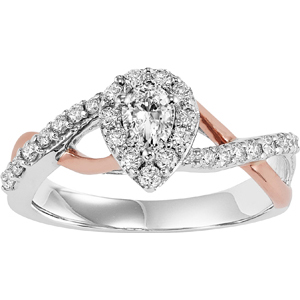 2 Tone Engagement Ring Sbt Imports